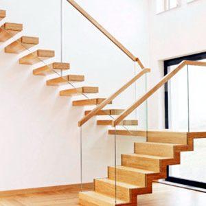 Cầu thang kính b1