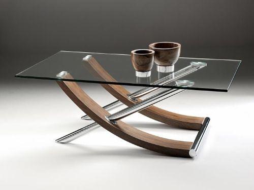 Hình minh họa: Kính cường lực mặt bàn có thể kết hợp với nhiều chất liệu khác
